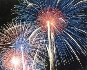 Fuochi d'artificio per il Capodanno di Trento
